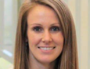 Kelly Hardesty, a third-year DPT student, who won the 2018 CSM scholarship.