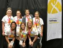 Nine DPT students volunteered at the Special Olympics for the FUNfitness program.