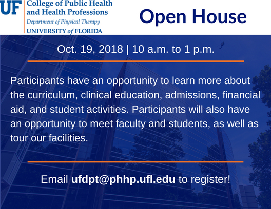 October 19 Open House