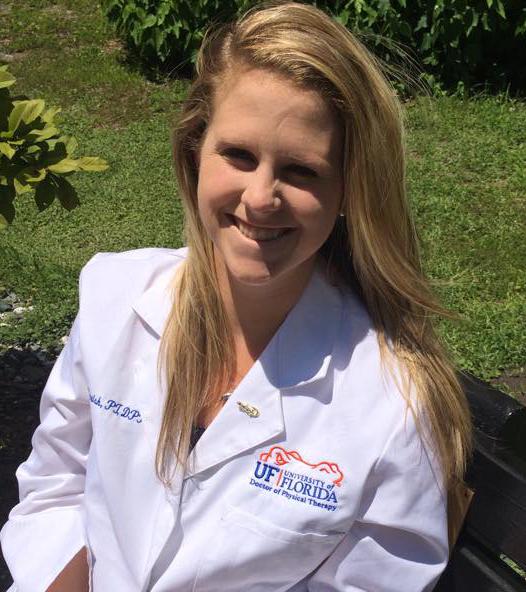 Dr. Ali Parrish, DPT alumna