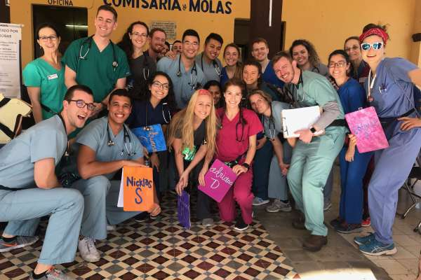 The group of health professional students