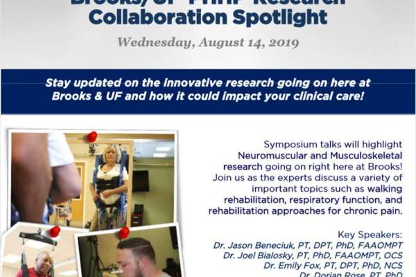 Brooks UF-PHHP Collaboration Spotlight Flyer