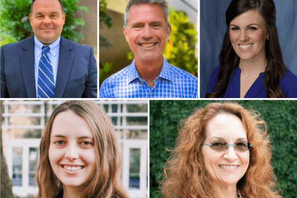 APTA Award Winners: Drs. Jason Beneciuk, Mark Bishop, Elisa Gonzalez-Rothi, Alyse Hausman, and Claudia Senesac