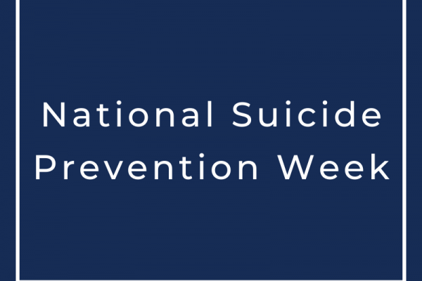 National Suicide Prevention Week graphic