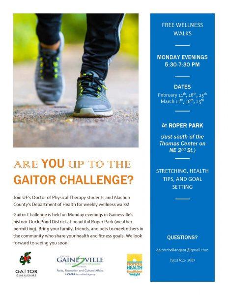 Spring Gaitor Challenge Flyer