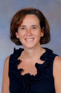 Dr. Krista Vandenborne, distinguished chair and professor of the Department of Physical Therapy