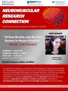 flyer of the Neuromuscular Research Connection event