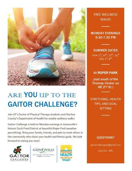 Summer 2019 Gaitor Challenge Flyer