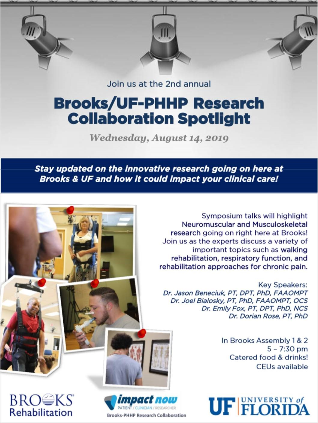 Brooks/UF_PHHP Collaboration Spotlight Flyer