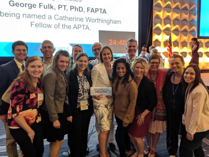 Group photo of APTA delegates