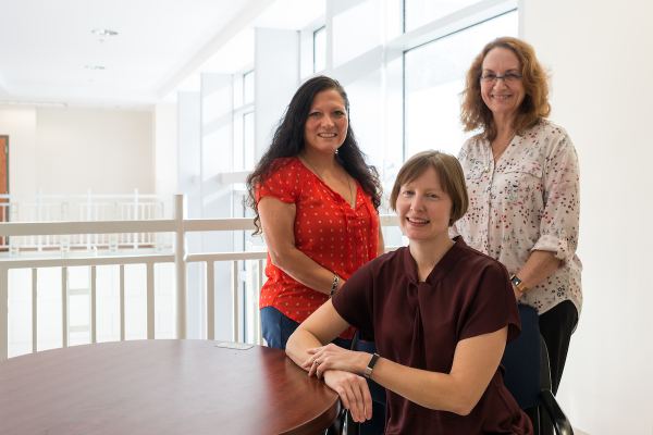 INSPIRE grant. Dr. Christine Myers, Clinical Associate Professor & Program Director, MOT & OTD, PHHP Department of Occupational Therapy; Dr. Claudia Senesac, Department of Physical Therapy; Lori-Ann Ferraro, Department of Speech, Language and Hearing Sciences.