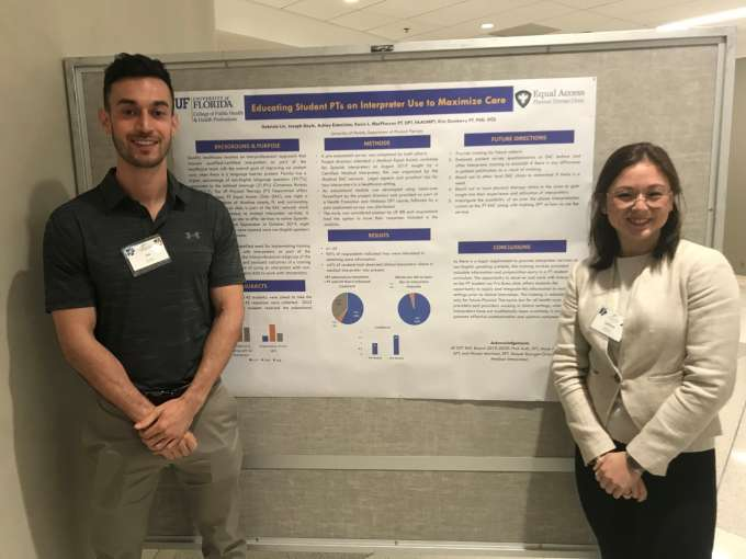 DPT Students at the Primary Care Progress Conference