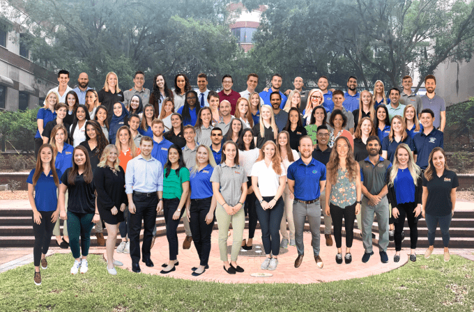Photoshopped group picture of the DPT class of 2020
