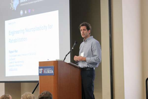 Dr. David Fuller at the Neuromuscular Plasticity Symposium