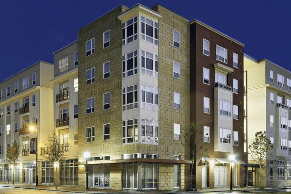 Picture of the Continuum apartment complex
