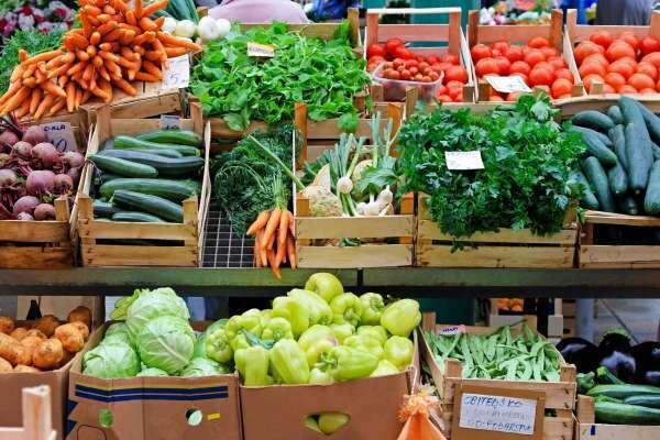 picture of Farmer's Market veggies