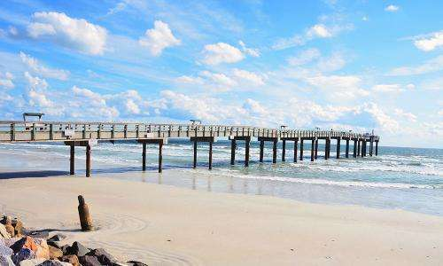 Picture of St.Augustine beach pier