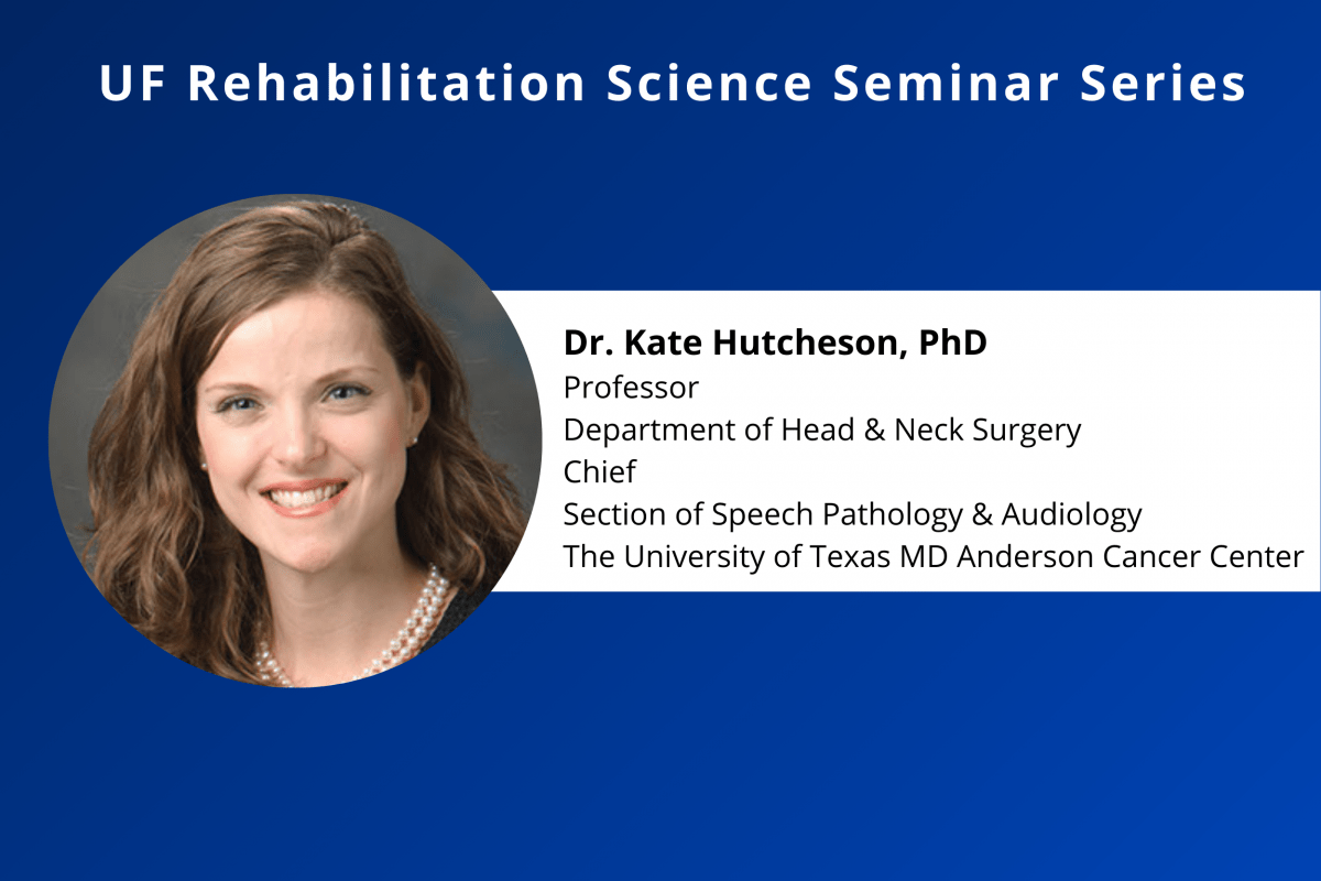 Calendar Feature Photo for Kate Hutcheson's Rehab Science Seminar