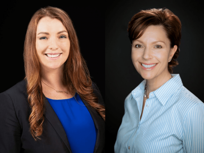Left to right: Drs. Kate Cavka and Emily Fox.